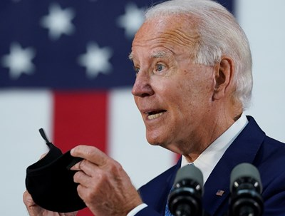 Кандидатът за президентската номинация на американските демократи Джо Байдън СНИМКА: Ройтерс