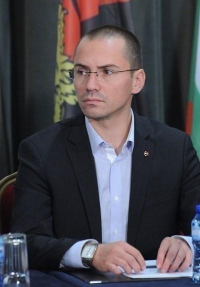 Зам.-председателят на ВМРО Ангел Джамбазки СНИМКА: Архив