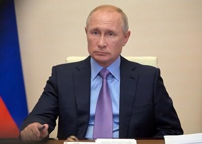 Президентът на Руската федерация Владимир Путин СНИМКА: Ройтерс