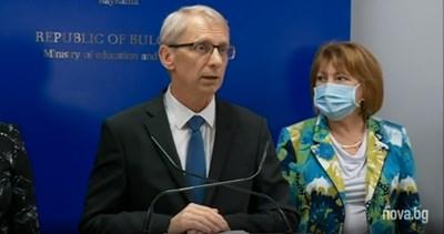 Образователният министър Николай Денков
