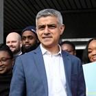 Настоящият кмет на британската столица Садик Хан от Лейбъристката партия има шанс да се пребори за втори мандат. СНИМКИ: РОЙТЕРС