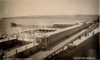 Централните морски бани във Варна са имали два етажа и над 1000 кабини.