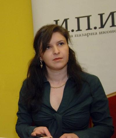 Зорница Славова, ИПИ
