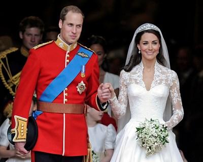 За англичаните това са Уил и Кейт. Но имената им са достатъчно дълги с всички титли, които имат.