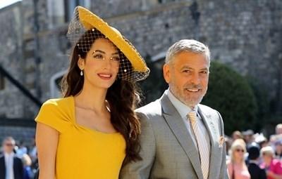 Амал и Джордж Клуни на сватбата на Меган Маркъл и Принц Хари Снимка: Ройтерс