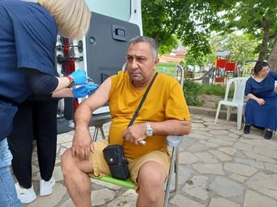 """Вартан твърди, че хора от """"Столипиново"""" агитират срещу ваксинацията Снимки Румен Златански"""