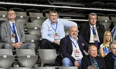 Шефът на европейския волейбол очарован от Русе