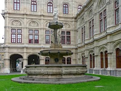 Сградата на Виенската опера СНИМКА: Pixabay
