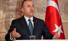 Чавушоглу: Постигнато е не прекратяване, а само временно спиране на операцията в Сирия