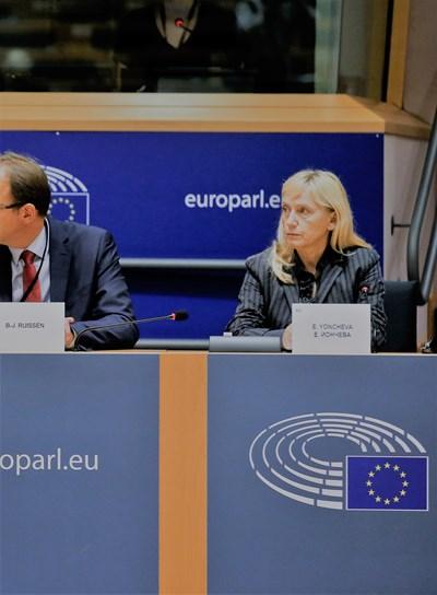 Комисар Рейндерс към Елена Йончева: Борбата срещу корупцията става сред основните приоритети на ЕС