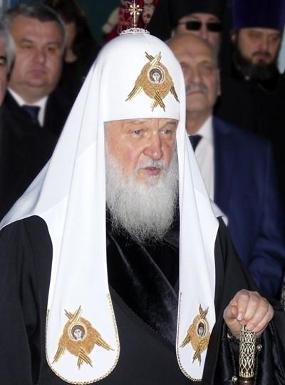 Руският патриарх Кирил СНИМКА: Ройтерс