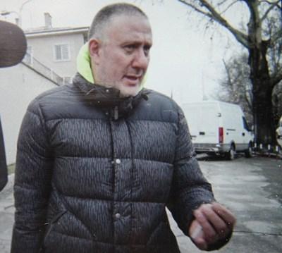 Д-р Иван Димитров на излизане от ареста СНИМКА: Евгени Цветков