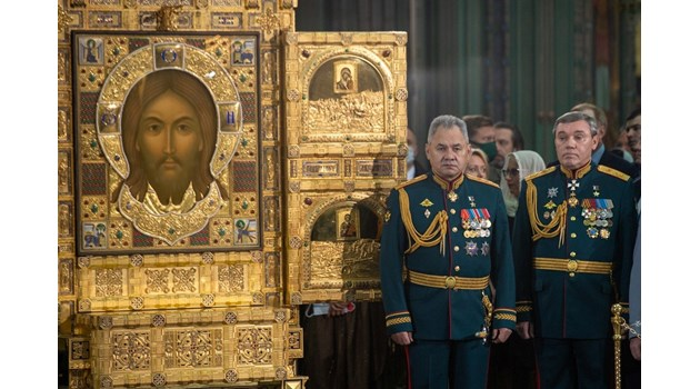 Първият официален храм на руската армия