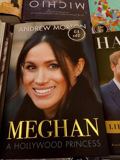 Книгата, която разкри интимни подробности от живота на годеницата на принц Хари.