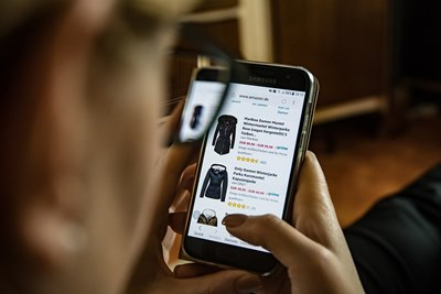 Ръстът на продажбите в някои онлайн магазини за облекло е спаднал до 0.   СНИМКА: Пиксабей