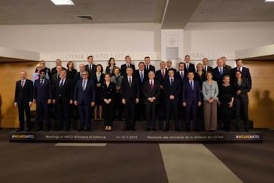 Снимка: Пресцентър на Министерство на отбраната.