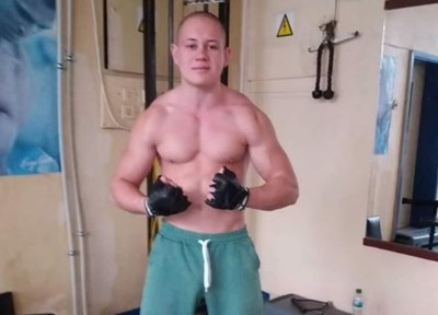 Подсъдимият Алекс Димитров. СНИМКА: ФЕЙСБУК