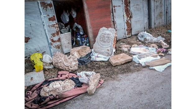 """Заподозреният за връзки със """"Сивите вълци"""" и ИДИЛ Вейсел Санлъ: Антиките и шумерската плоча са изработени в Турция"""