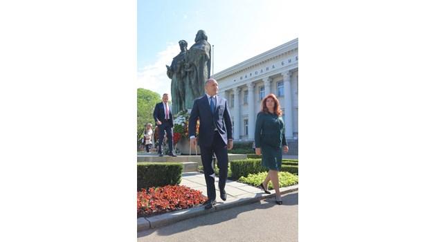 От България Русия получи своята писменост