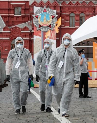 Кадър от Русия: Ройтерс