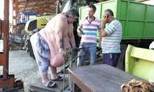 """Най-тежкият мъж в България: Как надебелях ли? Едно време в """"Шератон"""" хапвах тигрови скариди и черен хайвер на корем"""