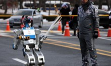 Роботи завладяха сърцата на олимпийците