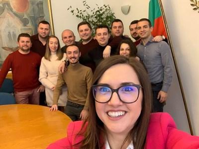 През януари Антоанета Асенова бе номинирана от ръководството на Младежко ДПС за председател на LYMEC.