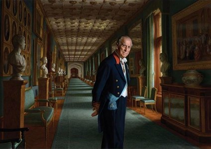 Бъкингамският дворец представи днес нов портрет на принц Филип Снимка: Официален профил на Бъкингамският дворец в Инстраграм