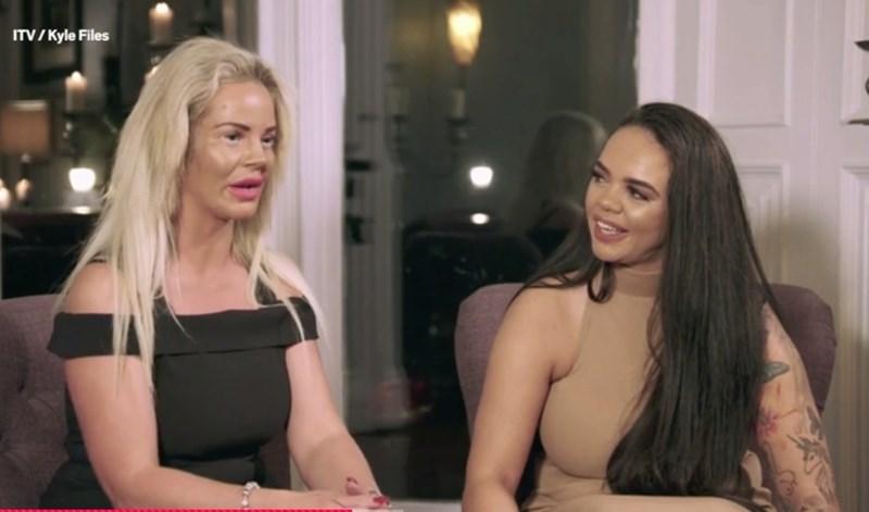 Кадър от ITV