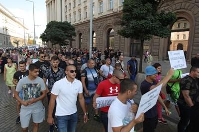 Над 1500 души дойдоха в подкрепа на Иван Гешев. СНИМКА: Йордан Симeонов