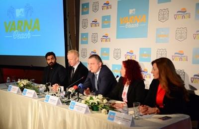 Организаторите на грандиозния концерт MTV presents VARNA BEACH - продуцентът Робърт Куирк и кметът на града Иван Портних обявиха, че първата голяма международна продукция в България, организирана от музикалната телевизия ще бъде в Деня на Варна - 15 август.
