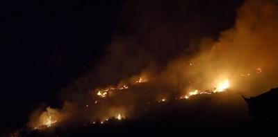 Причината за избухването на огъня не е известна. Не е изключен палеж КАДЪР: Youtube
