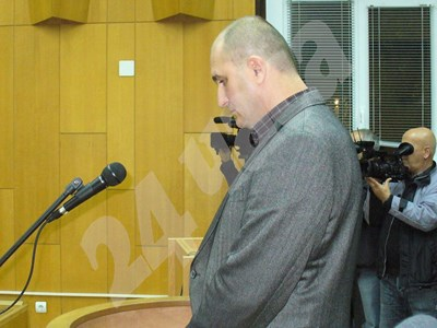 Георги Сапунджиев  в залата на Старозагорския окръжен съд преди  4 години СНИМКИ: Ваньо Стоилов СНИМКА: 24 часа