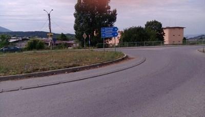 Полиция ще регулира кръговото кръстовище, докато се премахнат изсъхналите тополи.