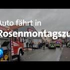 Кола се вряза в карнавално шествие в малкия германски град Фолкмарзен