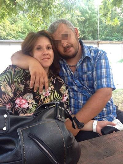 Венелина със съпруга си Христо Снимка: Фейсбук