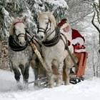Дядо Коледа увери децата, че Коледа не се отменя