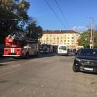 Пожар в столичната Пета градска болница, има дим, няма жертви
