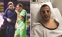 Оперираха българин в Белгия заради счупен нос след тежък сблъсък