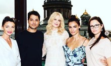 Диляна Попова и Никол Кидман се срещат в Санкт Петербург на следобеден чай (Снимки)