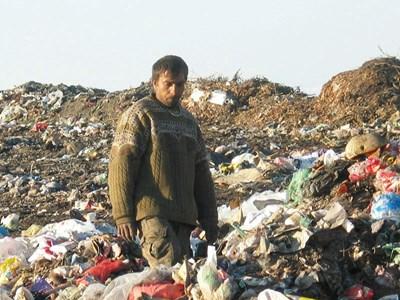 Тодор Гюров, който първи се натъкнал на човешките останки на сметището на Пазарджик.