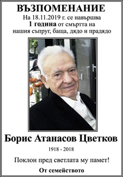 Борис Цветков