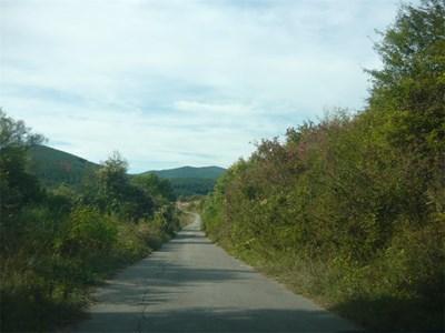 Започва ремонт на пътя между Блатешница и Драгомирово. СНИМКА: Светлана Стоименова