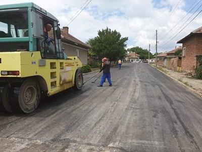 Улиците, отнесени от пороите, са с изцяло нов асфалт