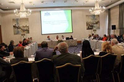 В срещата участваха всички значими браншови организации в туризма.