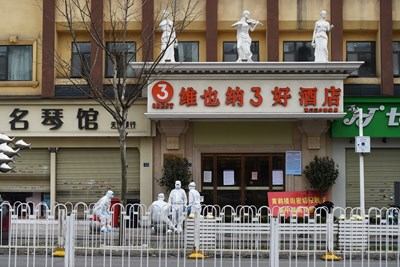 Броят на починалите от новия коронавирус в Китай вчера достигна 2663 СНИМКА: РОЙТЕРС