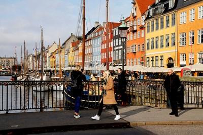 98% от хората, живеещи в датската столица Копенхаген, са доволни от живота си там.   СНИМКА: РОЙТЕРС
