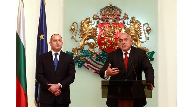 Радев ще е белият еднорог, с който ще се върне Борисов