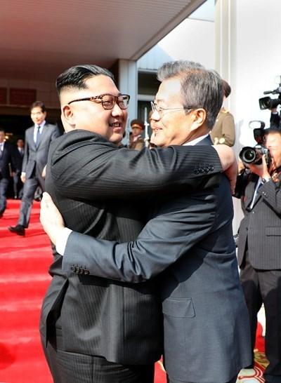 Срещите на лидерите на двете Кореи вече дават конкретни резултати. Снимка РОЙТЕРС