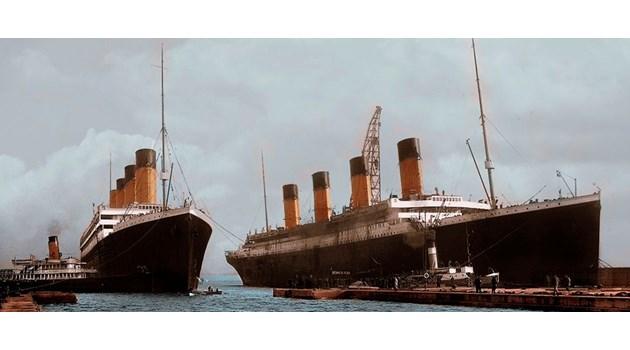 """8 доказателства, че """"Титаник"""" е подменен с """"Олимпик"""""""